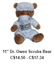 Dr. Owen Scrubs Bear