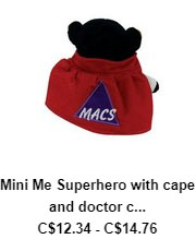 Mini Me Super Hero with Cape