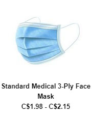 Standard Medical 3 Ply Face Mask