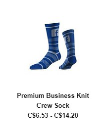 Premium Business Knit Crew Sock