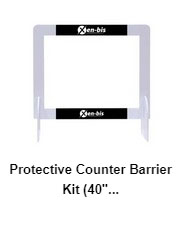 Protective Counter Barrier 40″