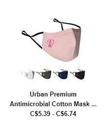 Urban Premium Antimicrobial Cotton Mask – ColorJet