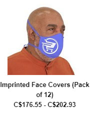 Imprinted Face Covers