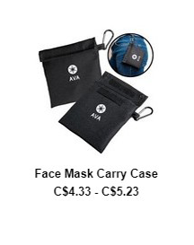 Face Mask with Matching Carry Case